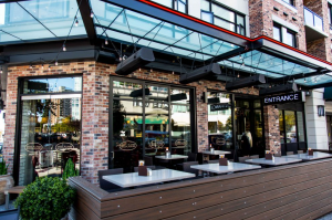 Extreme Glass Browns-Social-House - glass canopy